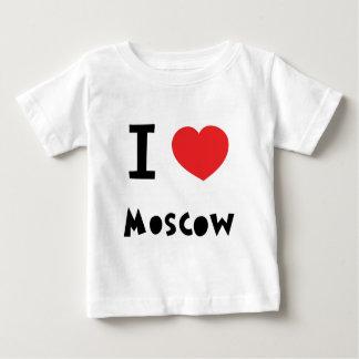 I corazón Moscú Playera De Bebé