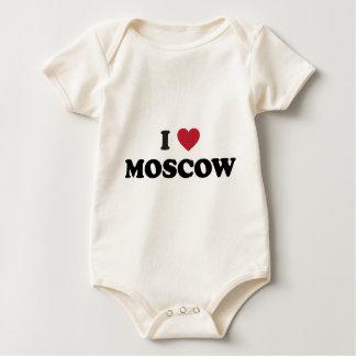 I corazón Moscú Rusia Body Para Bebé