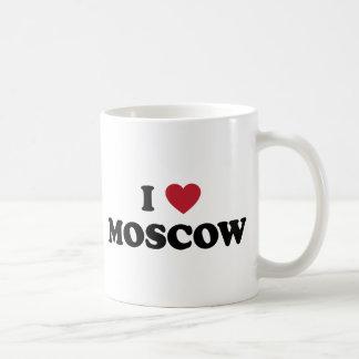 I corazón Moscú Rusia Taza De Café