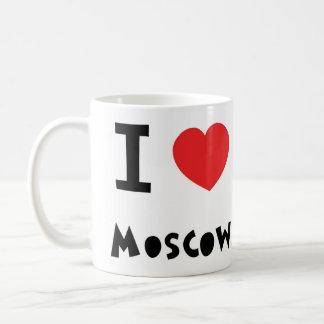 I corazón Moscú Taza De Café