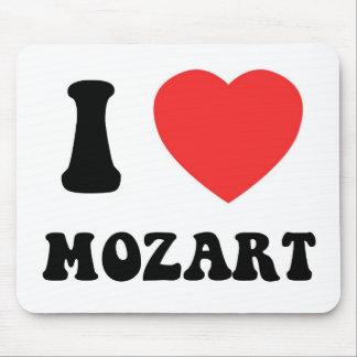 I corazón Mozart Alfombrillas De Ratón