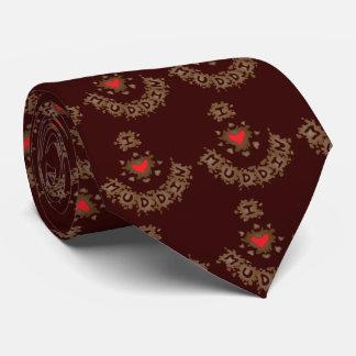 I corazón Muddin Corbata Personalizada