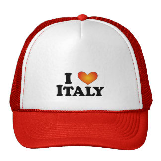 I (corazón) Multi-Productos de Italia - de Lite Gorros Bordados