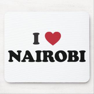 I corazón Nairobi Kenia Tapete De Ratón