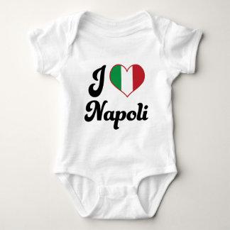 I corazón Napoli Italia (amor) Body Para Bebé