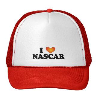 I (corazón) NASCAR - Mult-Productos de Lite Gorras