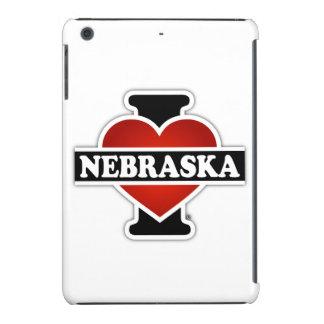I corazón Nebraska Funda Para iPad Mini Retina