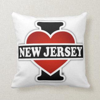 I corazón New Jersey Cojín Decorativo