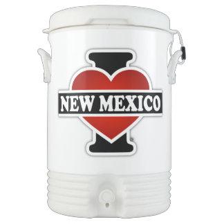 I corazón New México Enfriador De Bebida Igloo