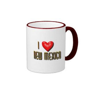 I corazón New México Taza De Dos Colores
