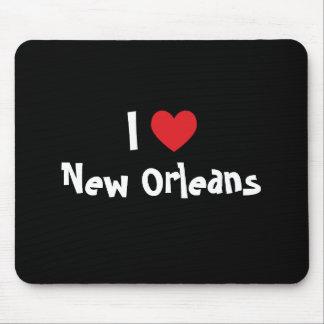 I corazón New Orleans Alfombrillas De Raton