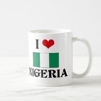 I CORAZÓN NIGERIA TAZAS DE CAFÉ