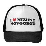 I corazón Nizhny Novgorod Rusia Gorro De Camionero