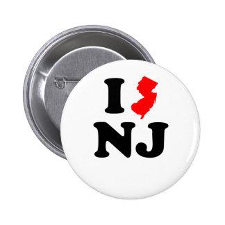 I corazón NJ Pin