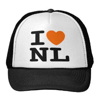 I corazón NL Gorros Bordados