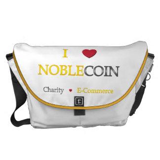 I corazón Noblecoin - comercio electrónico de la c Bolsas De Mensajería