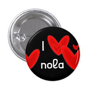I corazón Nola Pin