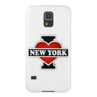 I corazón Nueva York Fundas De Galaxy S5
