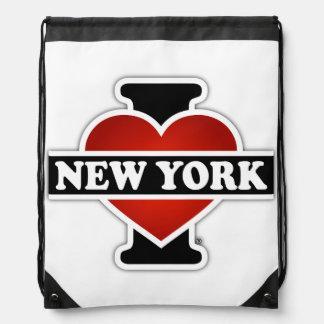 I corazón Nueva York Mochila