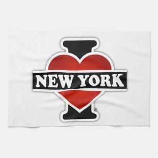 I corazón Nueva York Toallas De Mano