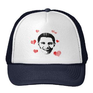 I corazón Obama Vintage.png Gorros
