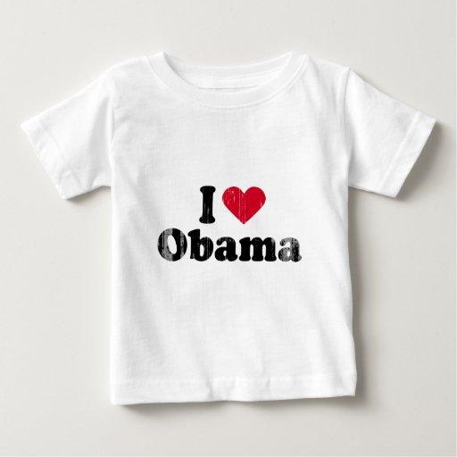 I corazón Obama - Vintage.png Playeras