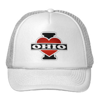 I corazón Ohio Gorro