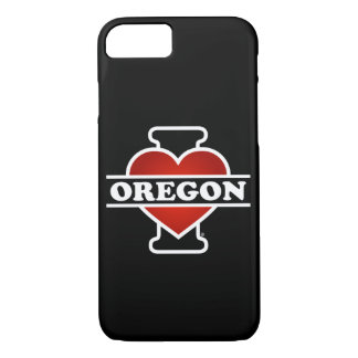 I corazón Oregon Funda iPhone 7