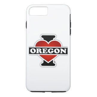 I corazón Oregon Funda iPhone 7 Plus