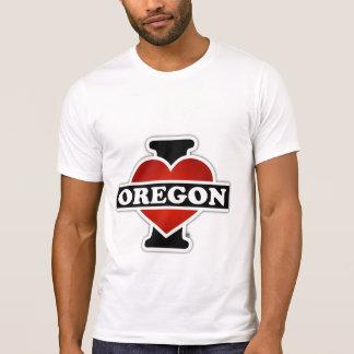 I corazón Oregon Poleras
