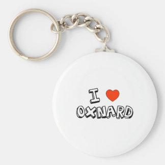 I corazón Oxnard Llavero Redondo Tipo Pin