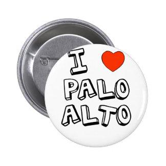 I corazón Palo Alto Pin