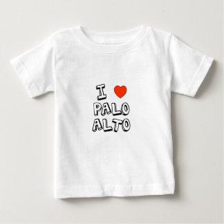 I corazón Palo Alto Playera De Bebé