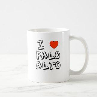 I corazón Palo Alto Taza Clásica