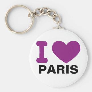 I corazón París Llavero