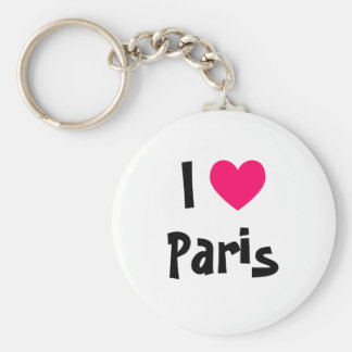 I corazón París Llaveros