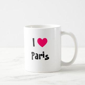 I corazón París Taza
