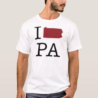 I corazón Pennsylvania Playera
