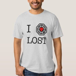 I corazón perdido playera