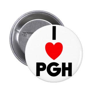 I corazón PGH Pin Redondo 5 Cm