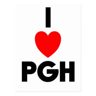 I corazón PGH Tarjeta Postal