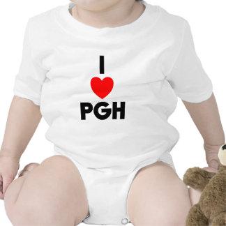 I corazón PGH Traje De Bebé
