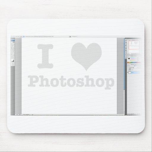 I corazón Photoshop Tapetes De Raton