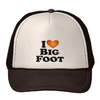 I (corazón) pie grande - camisetas de muchos produ gorras de camionero
