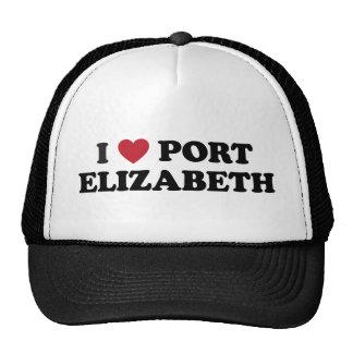 I corazón Port Elizabeth Suráfrica Gorro De Camionero