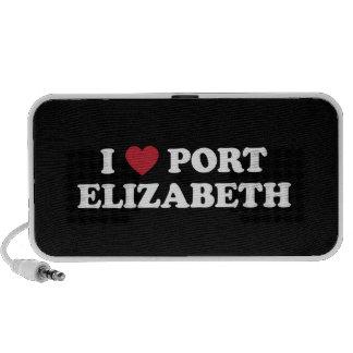 I corazón Port Elizabeth Suráfrica iPod Altavoz
