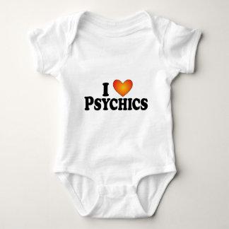 I (corazón) Psychics - camisetas de muchos Playeras