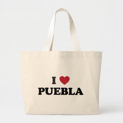 I corazón Puebla México Bolsa De Mano