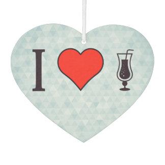 I corazón que bebe bebidas efervescentes