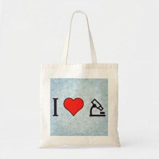 I corazón que converge en la tarea a mano bolsa tela barata